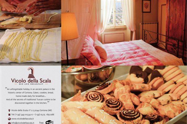 wwww.vicolodellascala.it  Vicolo della Scala 12, 52044 Cortona (AR),Tel 05751650266/3490033410, info@vicolodellascala.it