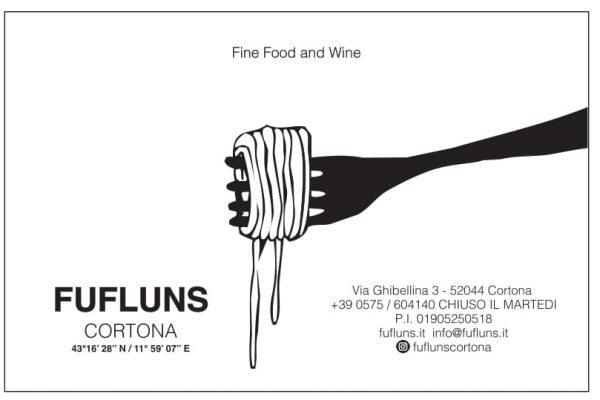 Via Ghibellina 3, 52044 Cortona,Tel 0575604140, info@fufluns.it