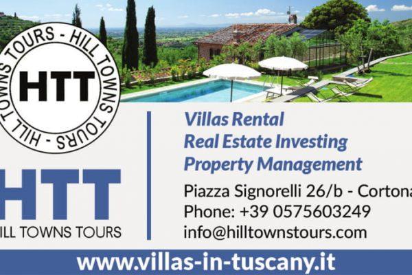 www.villas-in-tuscany.it  Piazza Signorelli 26/B, 52044 Cortona (AR), Tel 0575603249, info@hilltowntours.com