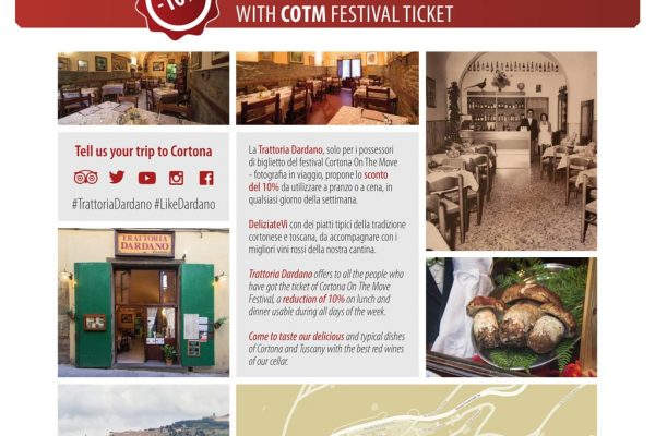 www.trattoriadardano.com Via Dardano 24, 52044 Cortona (AR), Tel 0575 601944, info@trattoriadardano.com