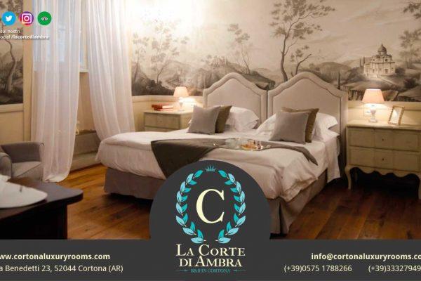 www.cortonaluxuryrooms.com Via Benedetti 23, 52044 Cortona (AR), Tel 05751788266/3332794944, info@cortonaluxuryrooms.com
