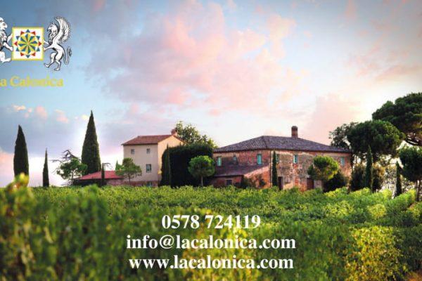 www.lacalonica.com   Via della Stella 27, 52045 Valiano di Montepulciano, Tel 0578724119, info@lacalonica.com,