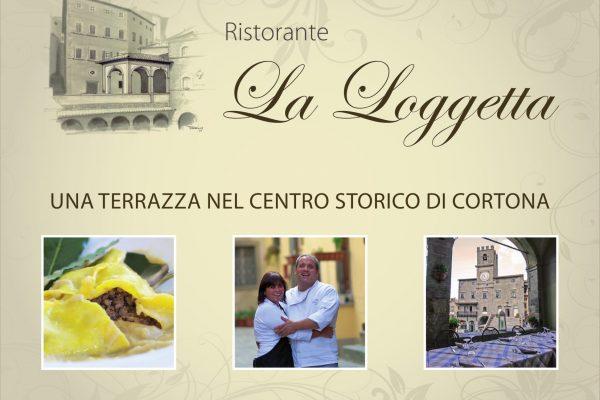www.laloggetta.com  Piazza di Pescheria, 52044 Cortona (AR), Tel 0575630575 /3388622870, info@laloggetta.com