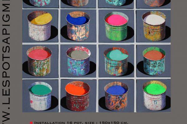 www.lespotsapigements.com Piazza Vittorio 3, 52044 Cortona (AR), lespotsapigments@gmail.com